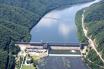 Huntington District Missions Civil Works Recreation West Virginia Bluestone Lake